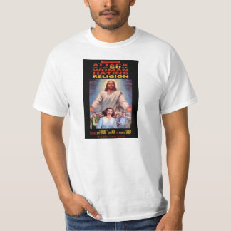 Attack of the 50 Foot Woman Hating Religion T-Shirt