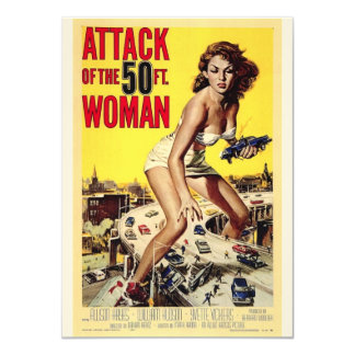 Attack of the 50 Foot Women Invites