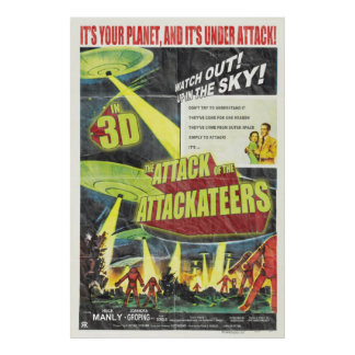 Attack of the Attackteers Poster