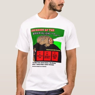 Attack Of The Brain Aliens T-Shirt