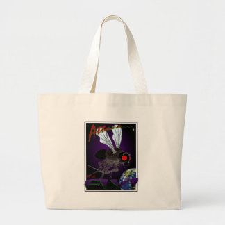 Attack of the Fly Tote Bags
