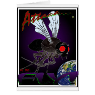 Attack of the Fly Card
