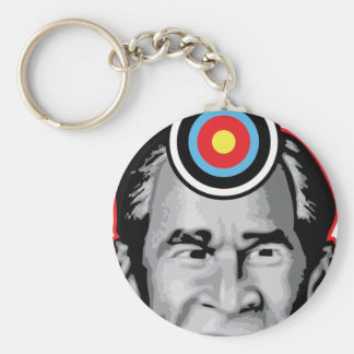 Attack of the flying shoe-Throw Shoe @ George Bush Keychain