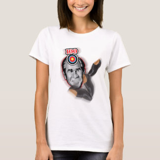 Attack of the flying shoe-Throw Shoe @ George Bush T-Shirt