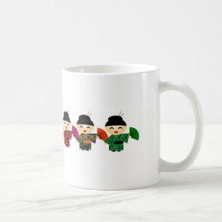 Attack of the Geisha Dolls Classic White Coffee Mug