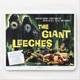 """Attack of the Giant Leeches"" Mousepad"