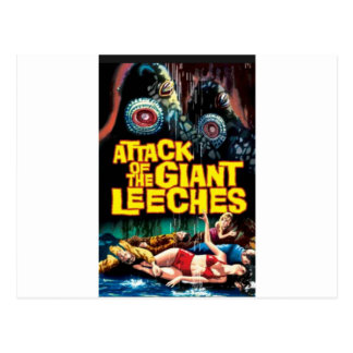 Attack of the Giant Leeches Postcard
