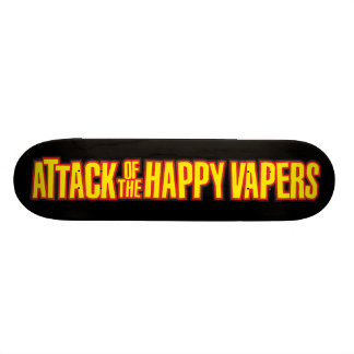 Attack of the Happy Vapers Skateboard Deck