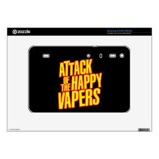 Attack of the Happy Vapers Decals For Motorola XOOM