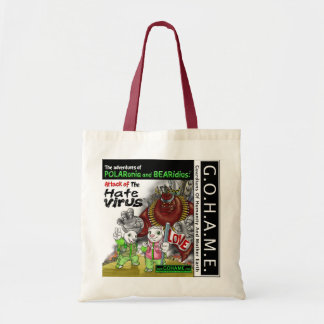 Attack of The Hate Virus Tote Bag