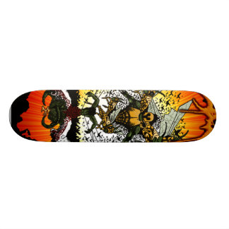 Attack of the Locust King Skateboard