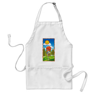 Attack of the lollipop adult apron