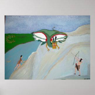 Attack of the Piasa Bird Poster