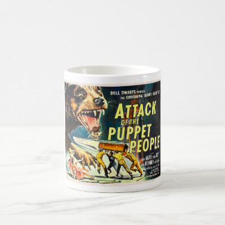 Attack of the Puppet People Mug