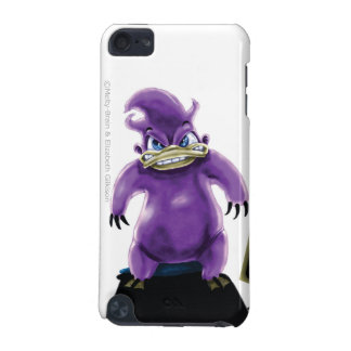 Attack of the Purple Platypus iPod Touch case
