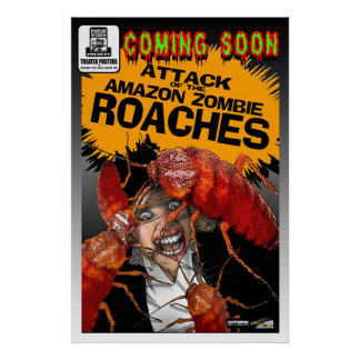 Attack of the roaches movie poster