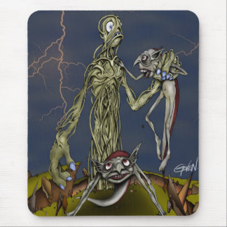 Attack of the Rooter Mouse Pad