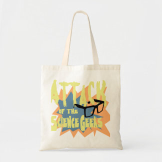 Attack of the Science Geeks Budget Tote Bag