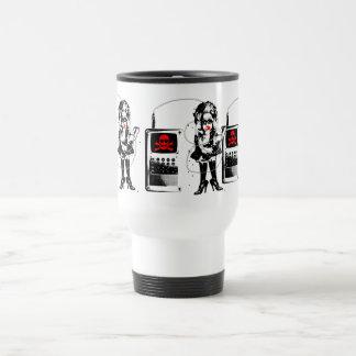 Attack of the Techno-Bimbos!!! Travel Mug