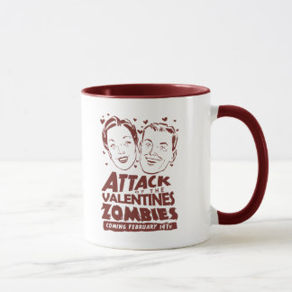 Attack of the Valentines Zombies Mug