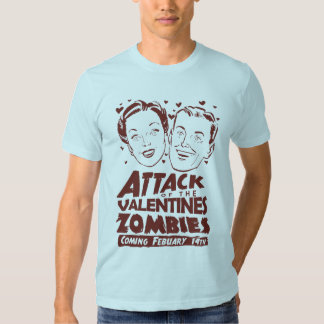 Attack of the Valentines Zombies Tees