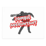 Attack of the Zombie Accountant Post Cards