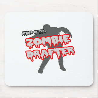 Attack of the Zombie Drafter Mouse Pad