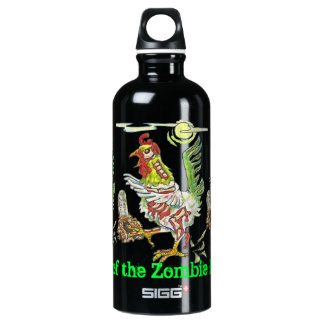 Attack of the Zombie Roosters Halloween Art SIGG Traveler 0.6L Water Bottle