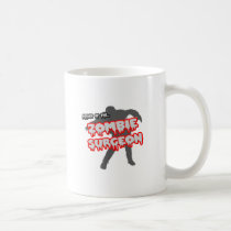 Attack of the Zombie Surgeon Classic White Coffee Mug