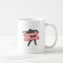 Attack of the Zombie Surgeon Classic White Coffee Mug