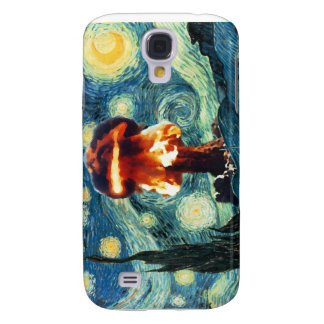 Attack on a Starry Night iPhone 3 Case