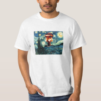 Attack on a Starry Night T-Shirt