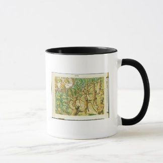Attack on an Indian Village Mug
