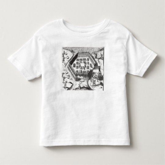 Attack on an Iroquois village Toddler T-shirt