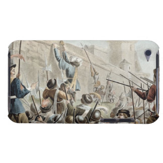 Attack on Boulogne-Sur-Mer, engraved by Jean Bapti Barely There iPod Covers