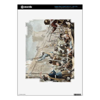 Attack on Boulogne-Sur-Mer, engraved by Jean Bapti iPad 3 Skin