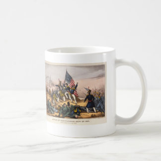 Attack on Chapultepec Mexican American War Coffee Mug