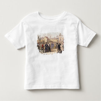 Attack on the Barriere Fontainebleau Toddler T-shirt