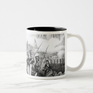 Attack on the City of Mexico Two-Tone Coffee Mug