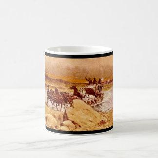 Attack on the Jerky', Olaf C. Seltzer_Art of Ameri Coffee Mug