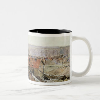 Attack on the Lime Kiln at the Champigny Two-Tone Coffee Mug