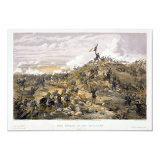 Attack on the Malakoff by William Simpson Invitations
