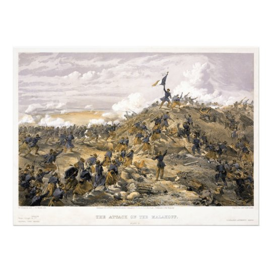 Attack on the Malakoff by William Simpson Photo Print