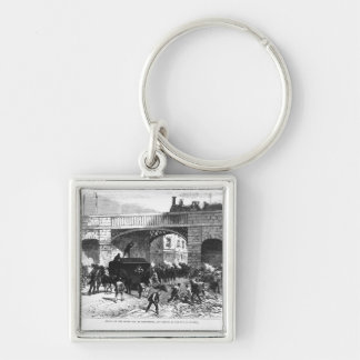 Attack on the Prison Van at Manchester Keychain