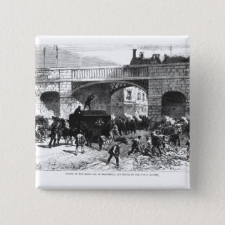 Attack on the Prison Van at Manchester Pinback Button