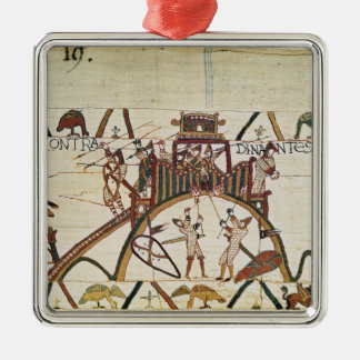 Attack on the Town of Dinan Ornament