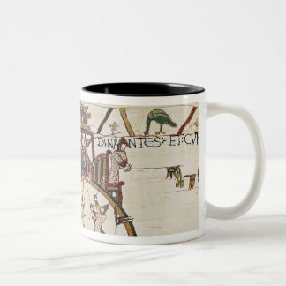 Attack on the Town of Dinan Two-Tone Coffee Mug