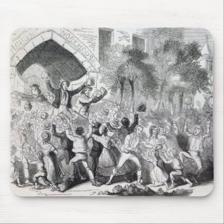 Attack on the Workhouse at Stockport in 1842 Mouse Pad