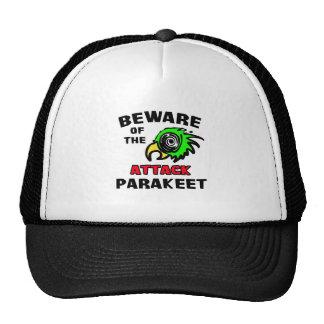Attack Parakeet Hat