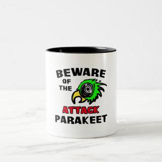 Attack Parakeet Coffee Mug